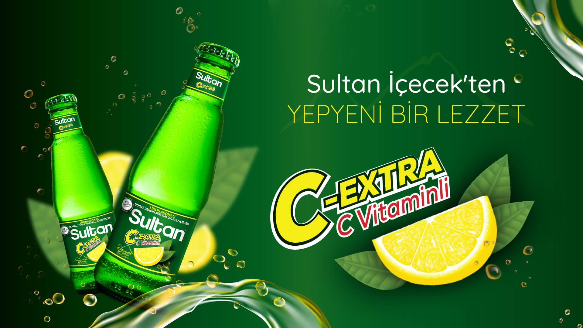 Sultan İçecek'ten Yepyeni Bir Lezzet: Sultan C-Extra!