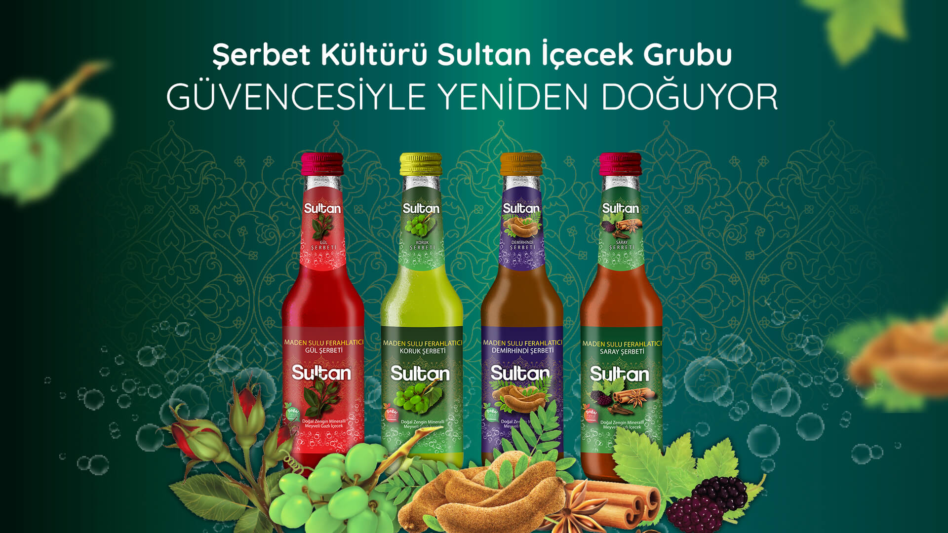 Şerbet Kültürü Sultan İçecek Grubu Güvencesiyle Yeniden Doğuyor